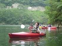 ■カヌー体験■静かな湖面に浮かんで癒しのひとときを