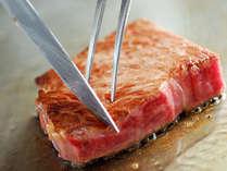 ★最高級常陸牛の鉄板焼フルコースとボリューム満点の常陸牛しゃぶ・創作刺身付