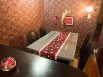 ★お食事は完全個室でご提供・ゆっくりとおくつろぎ頂けます
