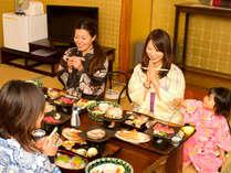 ★お食事は完全個室でお召し上がりいただけます