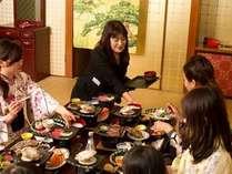 ★お食事は完全個室でご提供