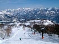 白馬五竜スキー場まで徒歩0分♪
