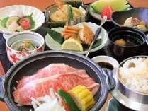 柳川和牛使用のお夕食膳のイメージです。