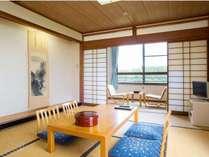 和室のイメージです。クス林が一望できる眺め良いお部屋です。