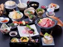 柳川和牛の使用したお料理です。写真は3/1~の予定です。