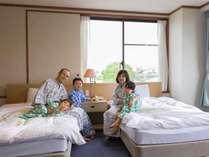 ご家族でおくつろぎいただける和洋室。