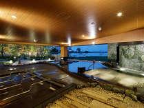 【大浴場】日本最大級の広さと楽しさがいっぱい★お時間の許す限り、のんびりとお寛ぎ下さい。