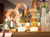 【フリードリンク】17時から21時まで開催。石川県の地酒や焼酎・ワインなどをお楽しみいただけます♪