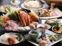 食事は和・ダイニング★板長の日替わり会席★4湯貸切風呂無料x女性色浴衣特典