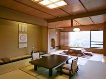【タイプ2】芦ノ湖一望の主室10畳+副室6畳(47平米)が完全に分かれた和室