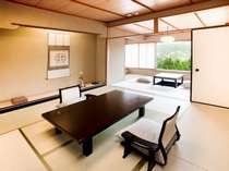 【タイプ4】芦ノ湖と二子山一望の人気の角部屋10畳+7.5畳には展望檜風呂(内風呂)も付いています