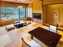 【タイプ1A・B】芦ノ湖一望の和室12畳(37平米)