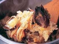 アワビ釜飯♪美味しい地元米で炊いてます!