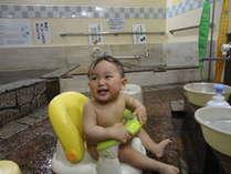 赤ちゃんにも安心の名湯♪ベビーチェアー(男湯・女湯)共にあります。