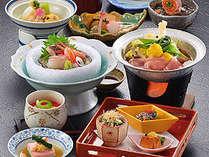 春季のんびり温泉プランのお料理☆