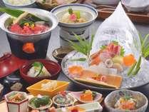 春の特撰会席プランのお料理♪(期間限定2/8~4/25)