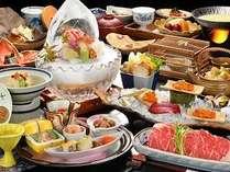 秋季限定☆特撰会席のお料理☆
