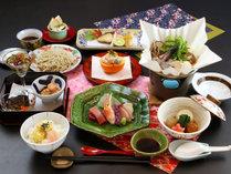 【黒松~kuromatu~】当館グレードアップコース―地元食材を使った創作会席―