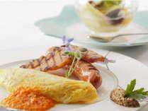 プレミアム連泊プラン、1泊目の朝には洋食のご朝食をご用意 ※写真はイメージです