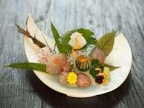 【夕食】Japanese French Cuisiine(一例)
