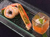 ズワイガニ三昧 ~ご夕食のお料理の一例です~