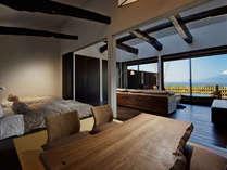 【客室】波の風(なみのふ)☆富士山と海の絶景を望む露天風呂付スイート