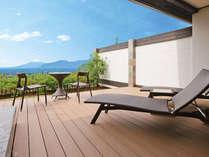 【客室】虹の端(にじのは)☆富士山と海の絶景を望む露天風呂付スイート