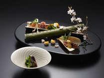 【前菜】春夏秋冬を五感で味わう本格懐石は料亭旅館ならではの至極の品々