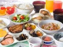 朝食ビュッフェ一例◇長崎名物も多数ご用意しております
