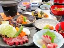 【ジュッワ~ッ♪と旨味が溢れ出す☆】和食を贅沢に頂く♪メインは豊後牛の陶板焼きプラン!<一泊二食>