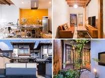 昭和初期の伝統的京町家の構造・建具や雰囲気を残しながら、現代風に住みやすくリノベーションしています