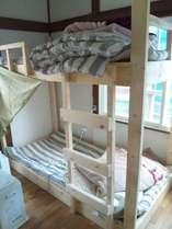 二段ベッドの相部屋です