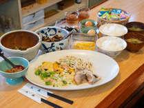 *【朝食一例】朝から好きなだけ食事を召し上がれます♪