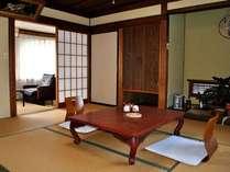 【和室8畳】昔ながらの旅館です。のんびりとおくつろぎください。