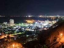 ◆稚内公園からの夜景