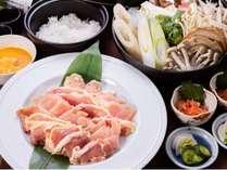 会津地鶏鍋(一例)