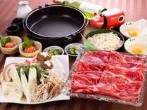 牛すき焼き(一例)