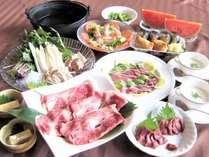 和洋コース(お部屋食:一例)