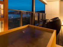 天然・夕日ヶ浦温泉「美人の湯」を客室露天風呂でお愉しみください【2F客室】