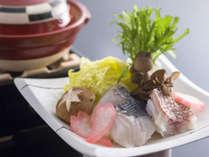旬の魚介小鍋