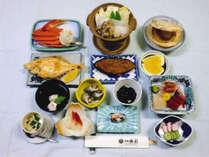 *当館、Aコースのお食事一例