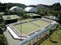 【本格テニスコート完備】夜もテニスをしたい方へ★★ナイターテニスプラン[1泊朝食付]