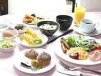 ☆朝食はレストランにて約20種類のブッフェをご用意致します