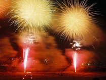 【「石和温泉花火大会」有料観覧席付き×8月21日】ご夕食後に会場までのお送り無料サービス特典付き!