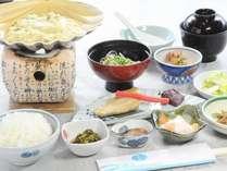 1日の活力の源は朝食から♪【当館人気】青森県産食材をふんだんに使用したホテル特製朝食付プラン