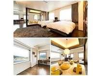 【501雪の雫】最上階ワンフロアに1室のみの贅沢で広々としたスウィートルーム。