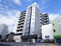 ホテルリブマックス姫路駅前外観です。
