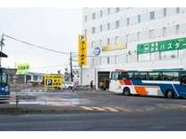 釧路駅前外観
