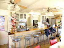 *食堂/1階にあるこちらは気兼ねなく過ごせる、明るくアットホームな雰囲気♪