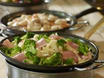 【ビュッフェレストラン「HAPO」】保存料や着色料も極力使わない、優しい美味しさを心がけています。